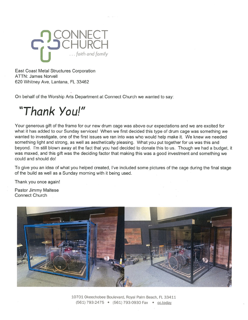 Appreciation Letter From Connect Church1024_1